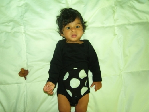 M.I.A.'s Twitpic Of Her Baby Boy Ikhyd at 5 Months Old