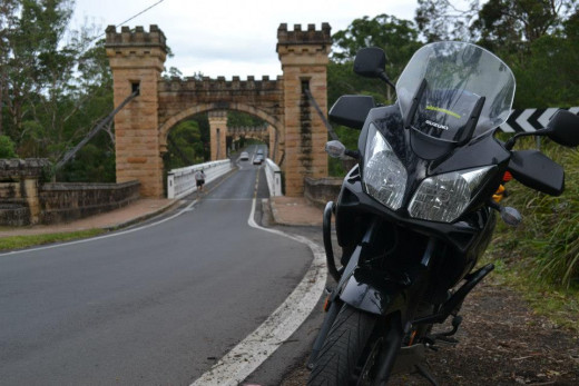 A famous old bridge in Kangaroo Valley just south of Sydney.