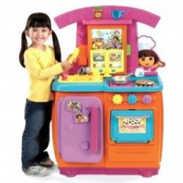 Dora The Explorer Fiesta Kitchen Set