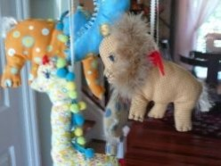 Make A Circus Mobile For Your Baby's Nursery
