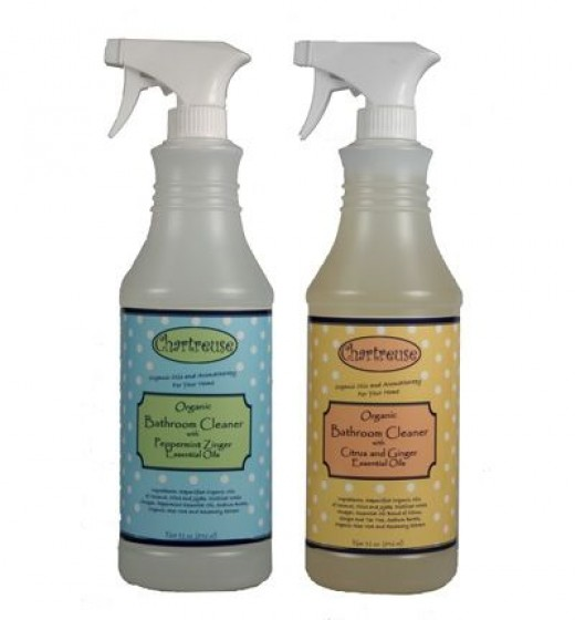 Organic Bathroom Cleaner: purchase it by itself or get it with the Organic Cleaner Set!