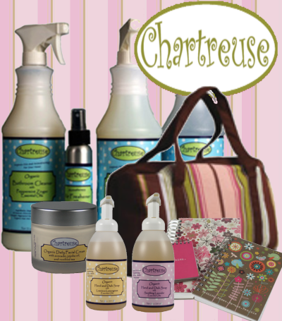 Go green with earth friendly reusable and organic products from Chartreuse!