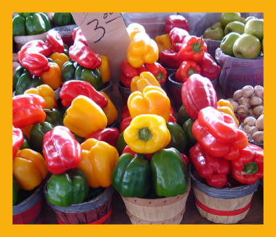 Buy your bell peppers local for the freshest flavor and to support the farming community near you!