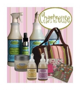 Go green with Chartreuse's organic facial products and reusable products!