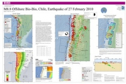USGS Poster of Chilean Earthquake 2010