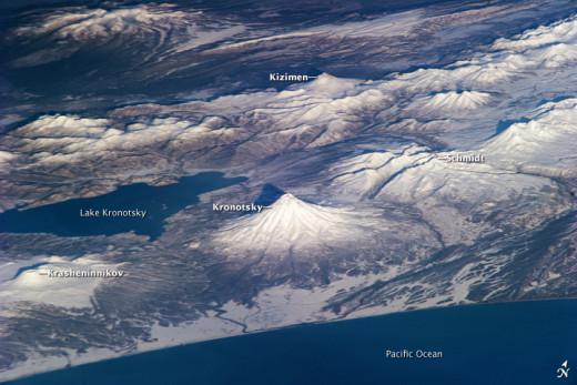 Kamchatka Peninsula Volcanoes
