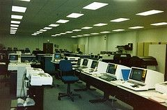 Computer lab like my college's in 1989