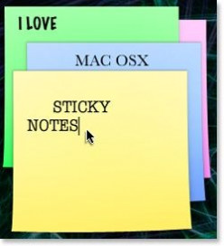 Sticky Notes for Mac: Freeware & Shareware