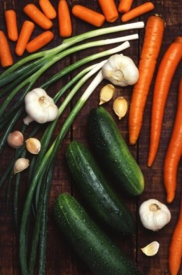 Raw foods use less packaging and aren't cooked, so they use less energy, too.