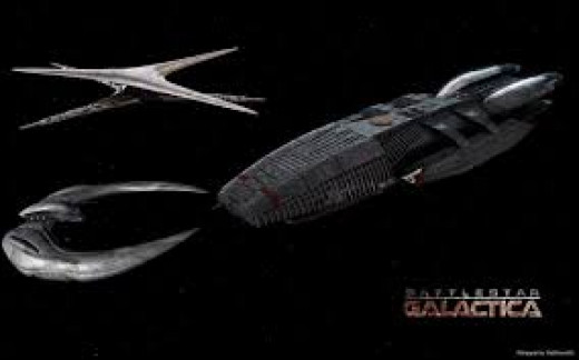 battlestar ships