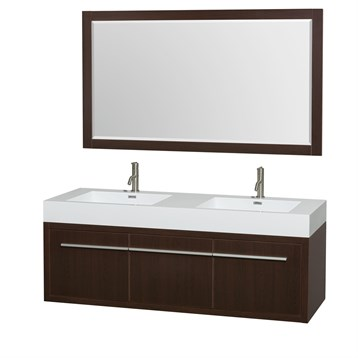 Wyndham Axa A modern floating vanity