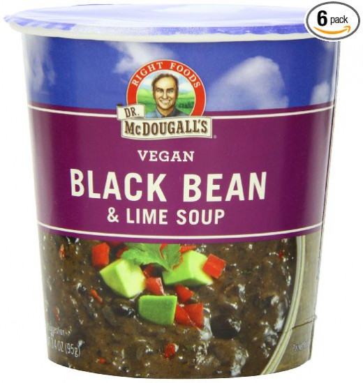Have a Vegan lunch in a pinch with McDougalls Instant Soups.