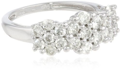 A composite style ring gives you a lot of sparkle at an affordable price.