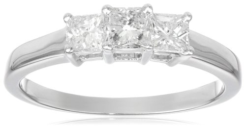 Three stone rings representing your past, future and the present make great engagement rings.