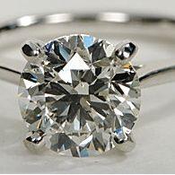 Go online to find a 2 carat diamond under $10,000