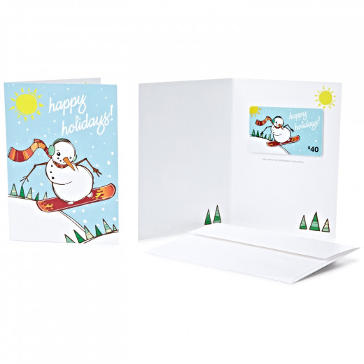 Get your Amazon.com gift card delivered in a greeting card. Many styles to choose from