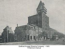 G Krueger Brewery Vintage Beer Can