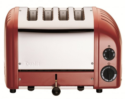 The perfect retro, rugged toaster. In an array of colors.
