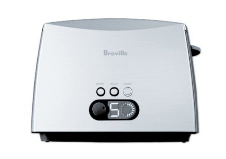 The Breville Ikon has a digital display for perfect toast every time