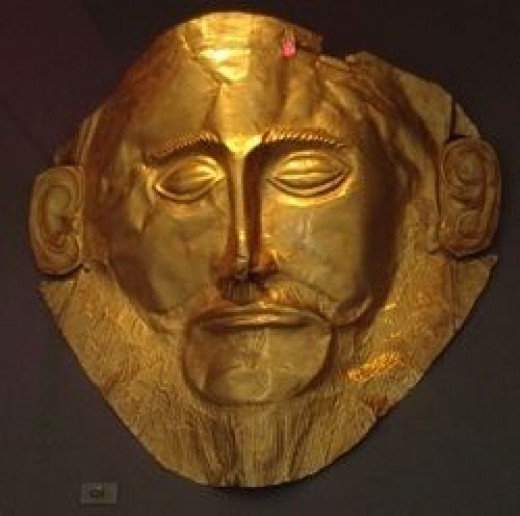 Mask of Agamemnon, Photo by Ellen Brundige, Some Rights Reserved