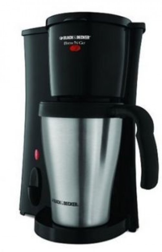 Thermos style coffee maker perfect grad or college student gift