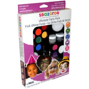 Snazaroo face paint is safe and lead free