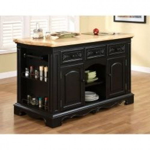 top rated kitchen island with breakfast bar