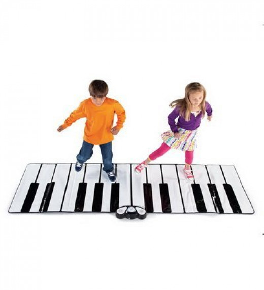 Just like in Big! This Piano mat provides hours of active, dance party fun!