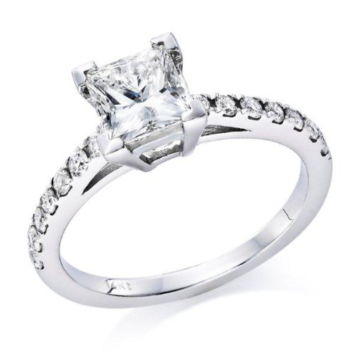 A top rated princess cut engagement ring for $899
