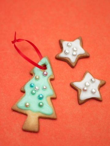 The Typical Christmas tree and Star-shaped Cookies