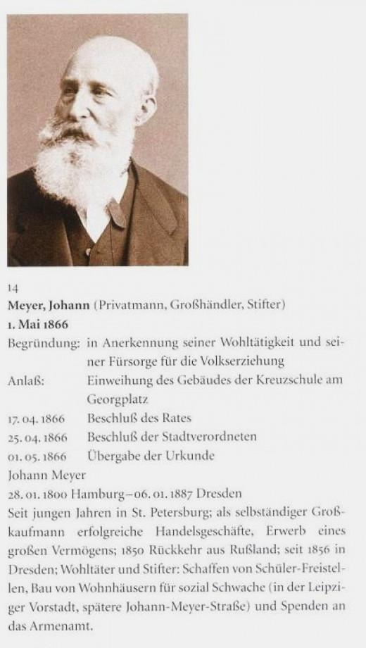 Johann Meyer  Stifter