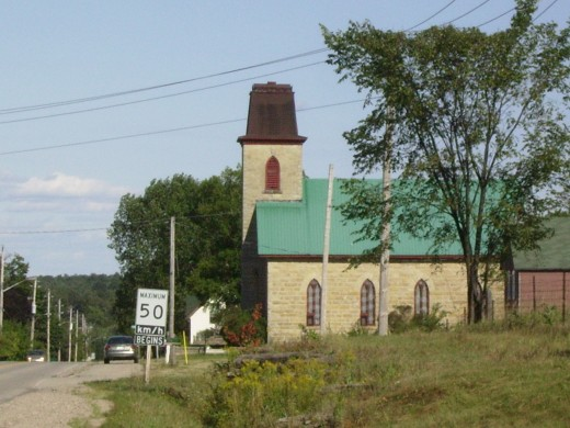 Village of Philipsville, Ontario, Canads