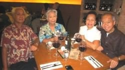 Wedding Anniversary Dinner with Rene and Genny Nieva