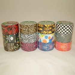 Patterned Duct Tape and Prints