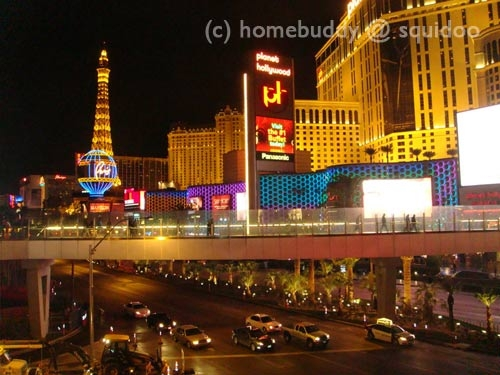 Strip View from Planet Hollywood