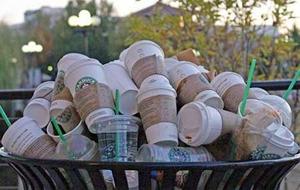trash cups