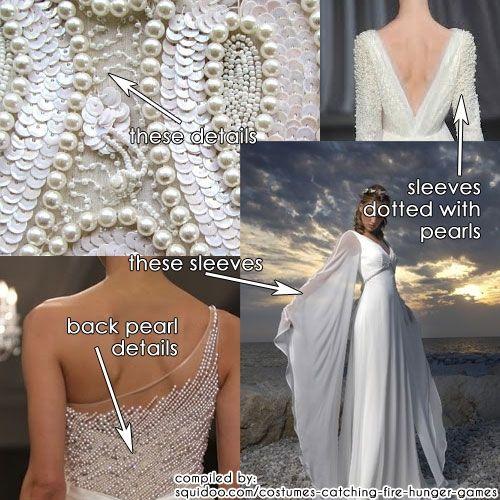 Katniss Wedding Dress - Catching Fire