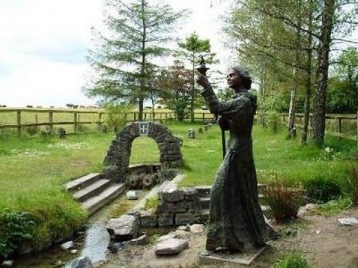 St Brigid's Well, Kildare, Ireland