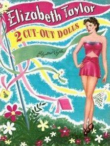Buy Vintage Elizabeth Taylor Paper Dolls Book