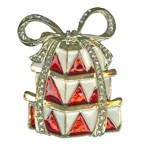 Kirks Folly Christmas Present Pin