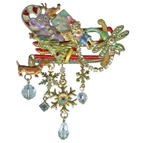 Kirks Folly Fairy Sled Pin