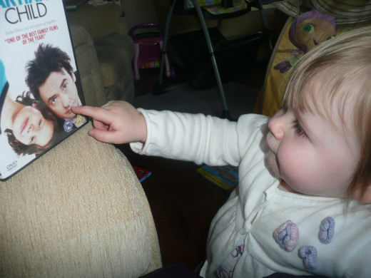 I think I created the world's youngest John Cusack fan when we viewed Martian Child...
