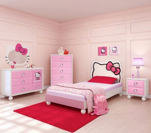 Hello Kitty Dream Bedroom