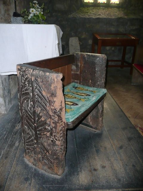 The Mermaid Chair in Zennor - Image copyright of the author (2009)