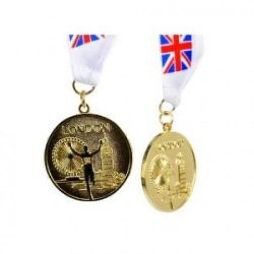 London 2012 Souvenir Olympic Gold Medal
