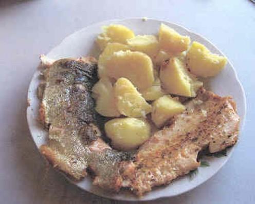 Trout & Potatoes
