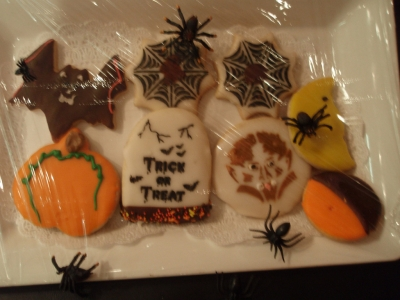 Make spooky cookies with Halloween Cookie Cutters!