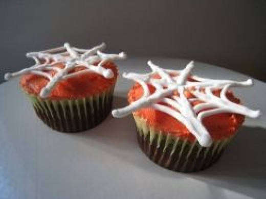 Spider Web Cupcakes - Photo courtesy of Flickr Creative Commons, author abakedcreation