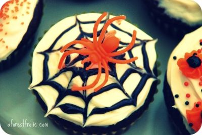Spidey Cupcake