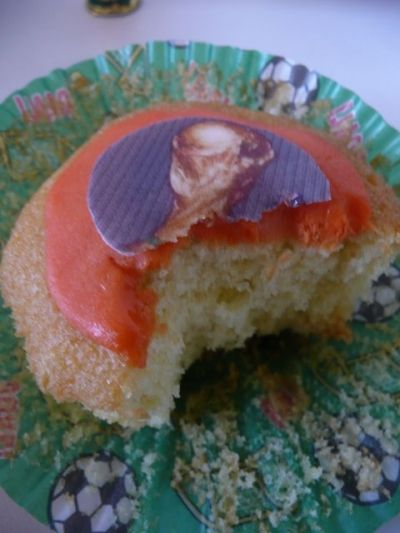 World Cup-Cake Action - What a Great Score!